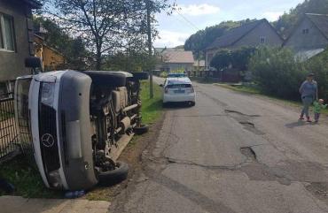Недалеко от Хуста произошло трагическое ДТП: Водитель наехал на маму с детьми