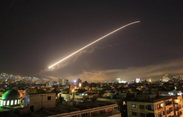 Ударыпо Сирии начали наносить в 21:00 по Вашингтону (04:00 по Киеву)