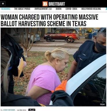 Женщину из Техаса обвинили в преступных махинациях по сбору голосов на выборах в США