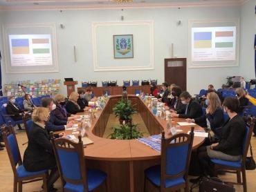 В Киеве началось заседание Украинско-Венгерской Межведомственной группы по вопросам образования