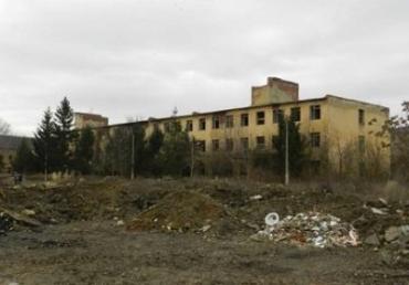 Воинская часть в Берегово