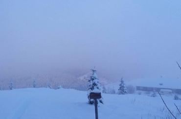 В Карпатах насыпало больше метра снега