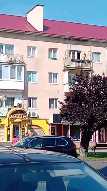 В Ужгороде на Проспекте пылает квартира