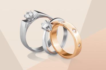 В разнообразии колец с бриллиантом, как и в выборе платьев, легко потеряться: одно краше другого