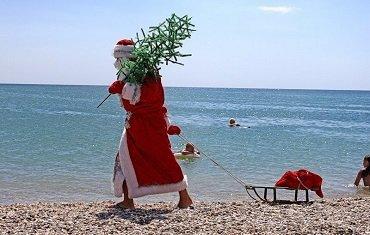 Погода в Украине на Новый год и Рождество