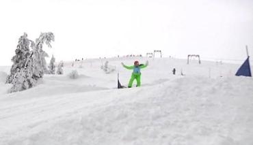 Чемпионат Украины по сноубордкроссу на Драгобрате