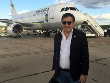 Саакашвили уже вылетел в Польшу