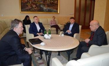 Геннадий Москаль встретился с руководством словацкой компании Vedecko-vyskumna
