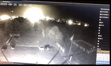 Последние секунды Ан-26 засняла видеокамера, установленная на одном из высотных зданий
