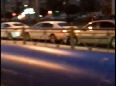 В Закарпатье столкнулись три легковушки