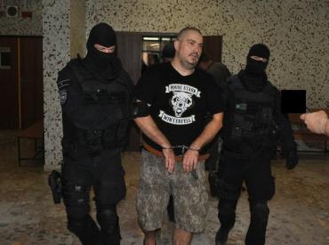 Задержанный в Кошице украинский преступник - закарпатец Владимир Гласнер