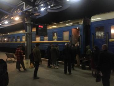 В Ужгороде десятки пассажиров купили билет в вагон, который забыли прицепить