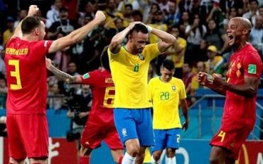 Бразилия вылетела с ЧМ-2018 проиграв Бельгии
