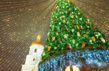 Главная ёлка Украины вошла в ТОП-10 самых красивых рождественских деревьев Европы