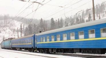 Изменения маршрутов и добавочные поезда на Новогодние праздники в Закарпатье