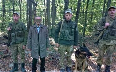 Отыскать 68-летнего россиянина пограничникам помогла служебная собака
