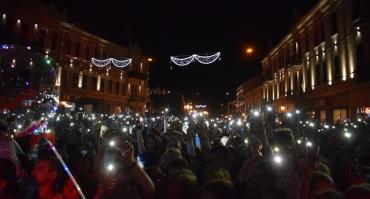 В областном центре Закарпатья круто празднуют День города