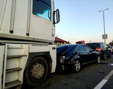 Жахлива автопригода біля Ужгорода могла закінчитися численними смертями