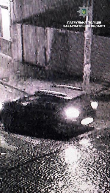 В Закарпатье ищут свидетелей вечернего ДТП
