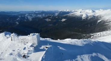 Магия Карпат: В сети опубликовали впечатляющее видео горы Поп Иван в Закарпатье