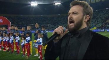 Мороз по коже: Дзидзьо поразил прекрасным исполнением национального гимна