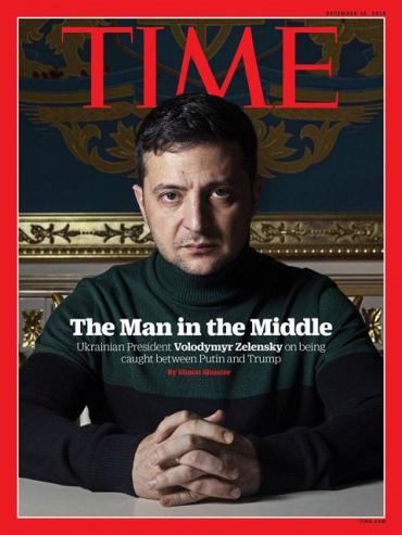 Президент Зеленский впервые на обложке одного из самых популярных журналов в мире