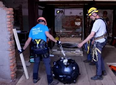 С помощью робота-исследователя планируют создать 3D-карту затопленных шахт Солотвино