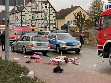 Смертельное ДТП в Германии: В немецком Трире авто въехало в группу людей, двое погибших, 15 травмировано