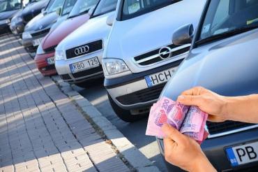 В Закарпатье таможня похвасталась многомиллионными штрафами евробляхеров