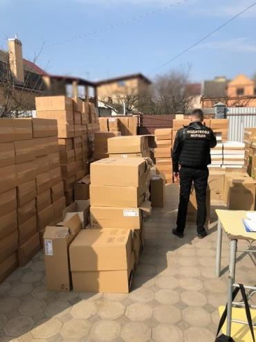 Накрылся бизнес: Во Львове обнаружили нехилую партию фальсифицированных сигарет