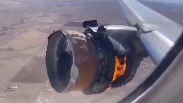 В США обломки загоревшегося Boeing 777 упали на город