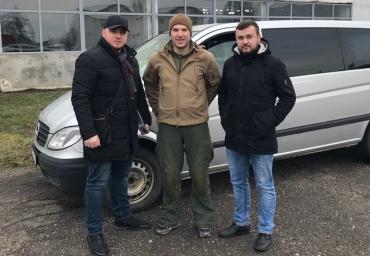 ГП «СЕТАМ» и ГТУЮ в Закарпатье безвозмездно передали 8 евроблях стоимостью 1,3 млн грн военным