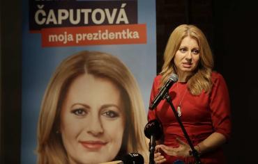 Зузана Чапутова избрана президентом Словакии
