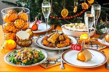 Праздничный новогодний стол подорожал в два раза