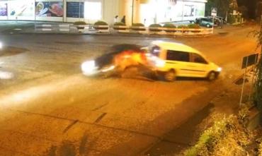 Жесткое ДТП в Закарпатье: Видео момента попало в сеть