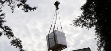 В Ужгород привезли передовое оснащение за 65 миллионов, которое можно хранить только в бункере
