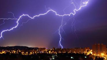В Закарпатье синоптики предупреждают об мощных ливнях с грозой