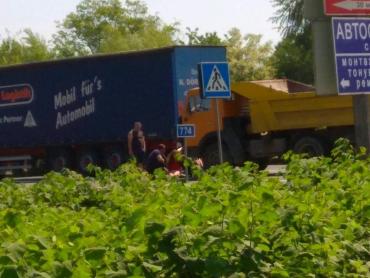 Страшное ДТП на Закарпатье: грузовик сбил девушку-велосипедистку