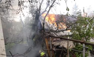 В Закарпатье один окурок мог стать причиной сильного пожара