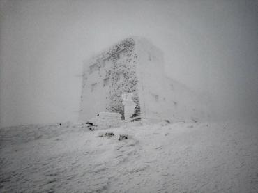 В Закарпатье появилось место, где наконец-то царит настоящая зима