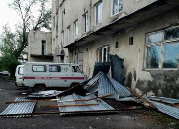 Масштаб большой: В Закарпатье яростный ураган наделал много беды