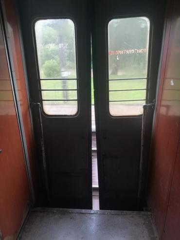 Поезд из Закарпатья в Стрый несет опасность для людей
