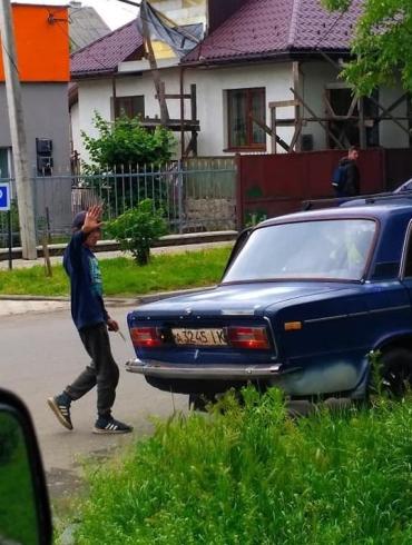 """В Закарпатье очевидцы видели, как группа цыган на """"Жигуле"""" промышляла что-то недоброе"""