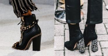 Ботильоны – в выборе можно опираться на модные тенденции
