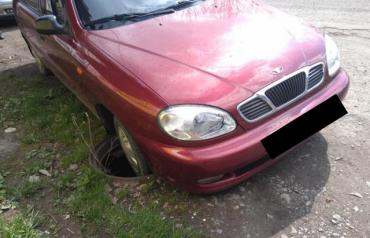 В Закарпатье водитель автомобиля неожиданно попал в аварию