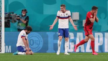 Бельгия забила России три безответных мяча