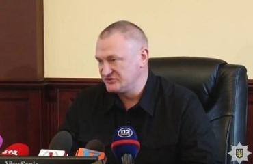 Брифинг Главы Нацполиции Сергея Князева в Ужгороде