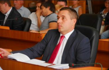 Ужгород. Василь Гомонай написав заяву на звільнення з посади заступника міського голови Ужгорода