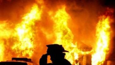 В Закарпатье под утро начал гореть магазин