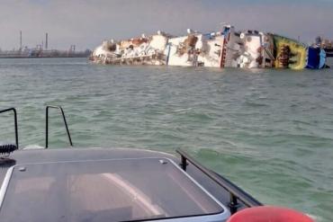 Утонуло 14 тысяч живых существ: В Черном море перевернулось гигантское судно